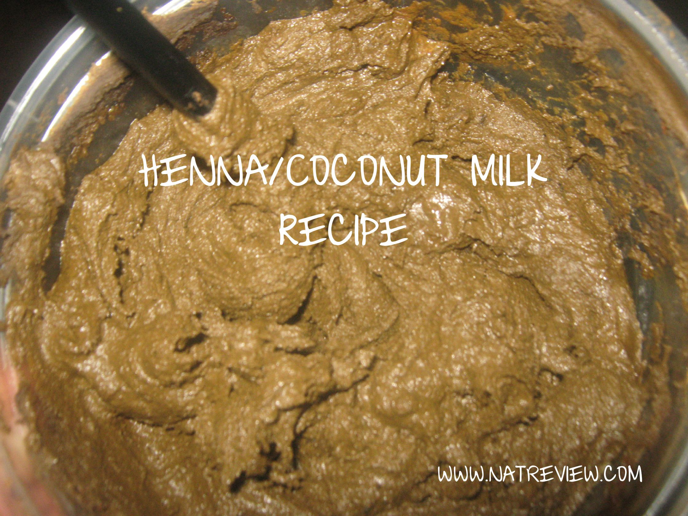 My henna recipe with coconut milk nice i 39 ve never used for Can i use coconut oil on my tattoo