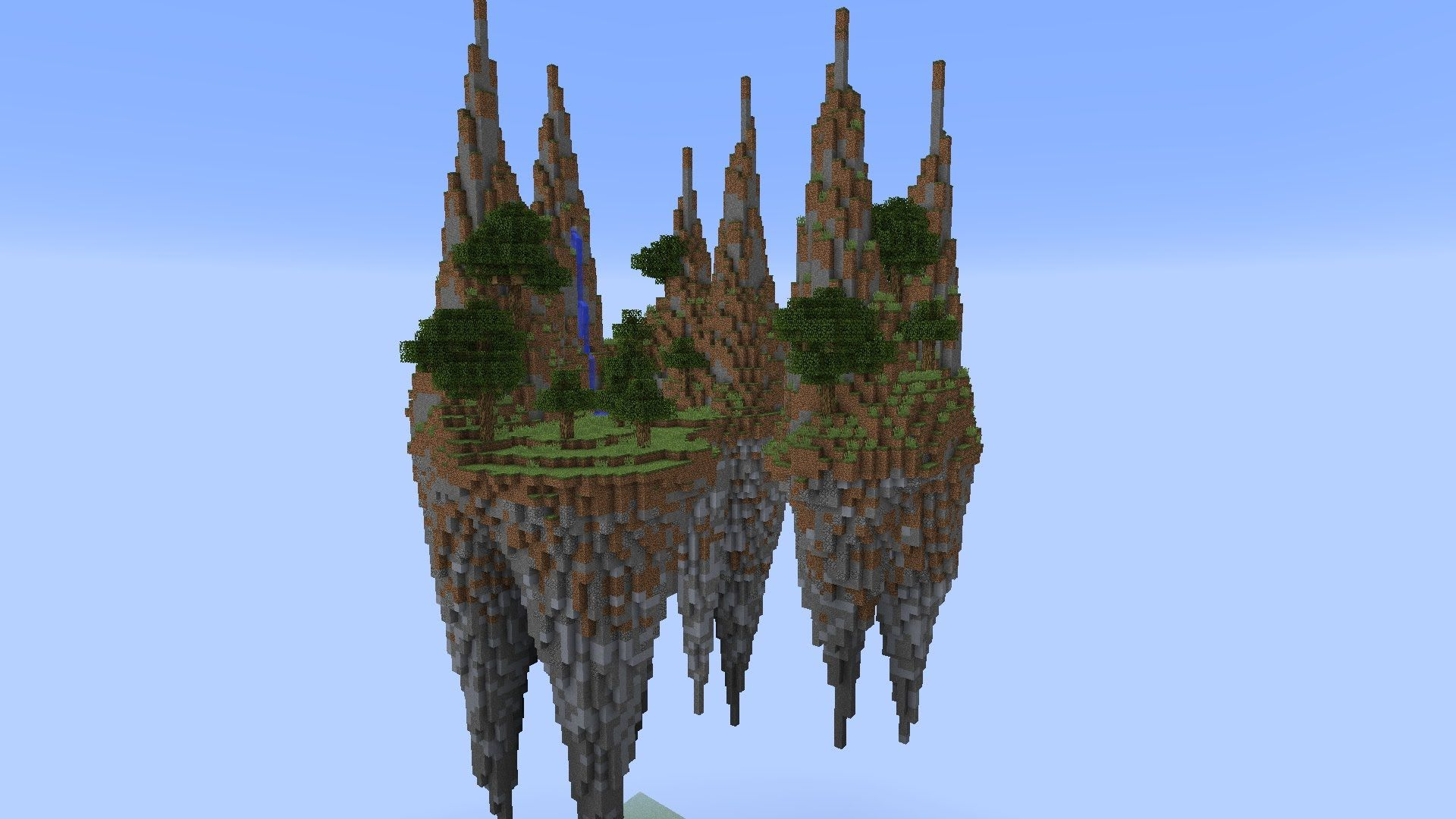 Building With Grian - Floating Islands! | Floating island ...