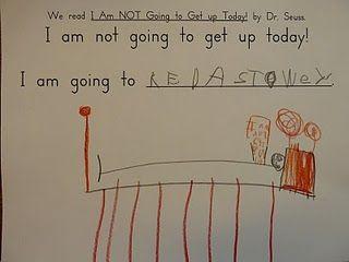 I Am Not Going To Get Up Today Dr Seuss Dr Seuss Day Teacher
