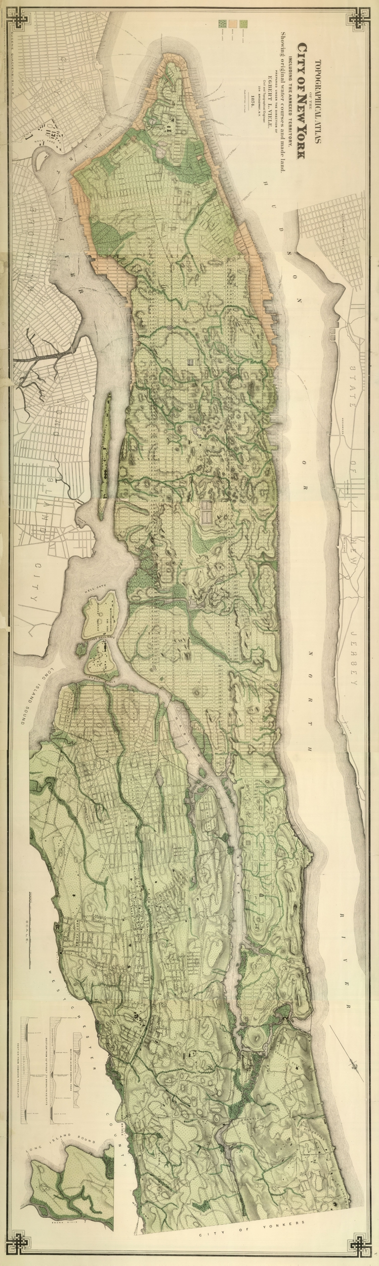 Topographic Atlas of the City of New