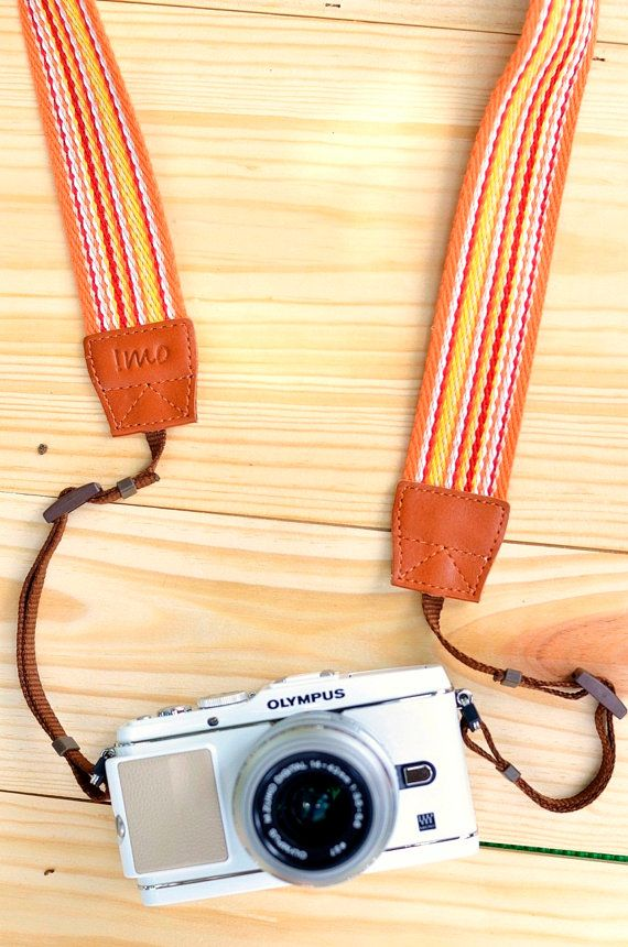 Sunshine Camera Strap - So beautiful!