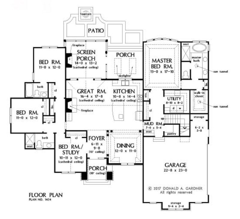 HOME PLAN 1434 u2013 NOW AVAILABLE Planos y Arquitectura