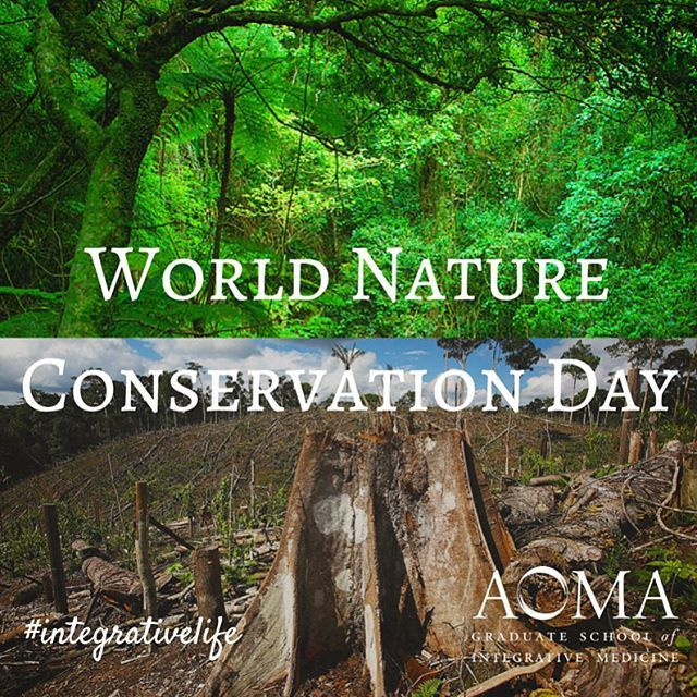 Happy World Nature Conservation Day A Healthy Environment Is A Happy Environment Integrativelife Nature Conservation Healthy Environment Instagram