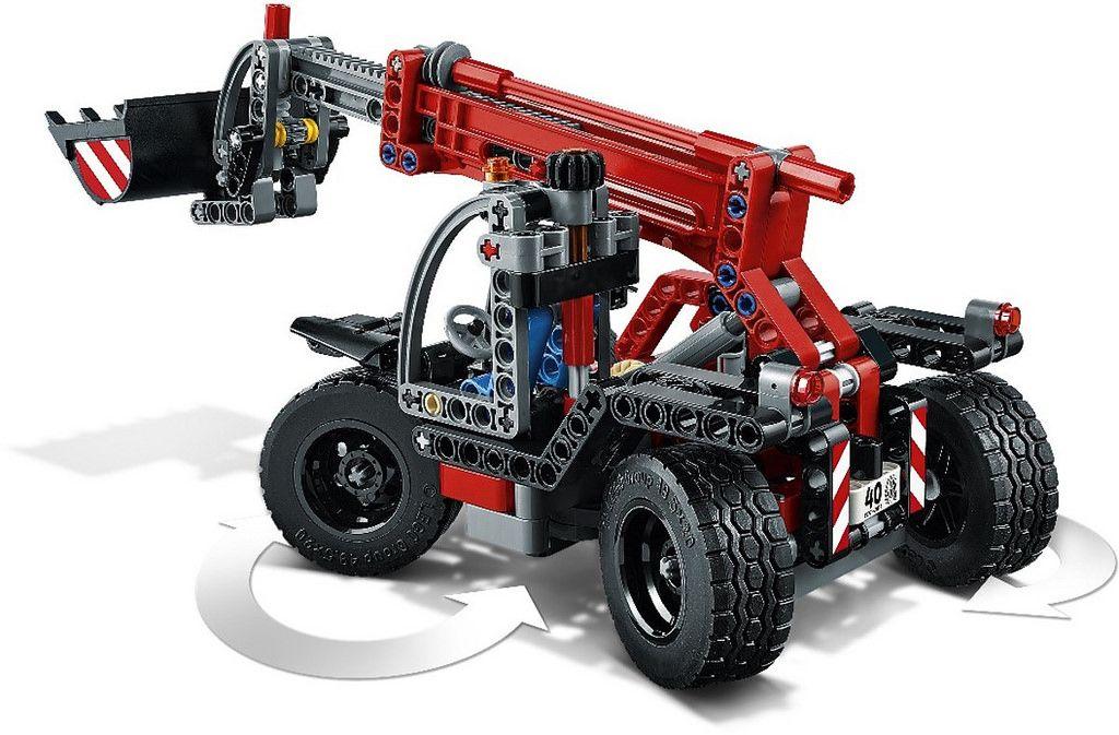 LEGO Technic 42061 - Telehandler http://www.flickr.com/photos/thebricktime/30319913703/