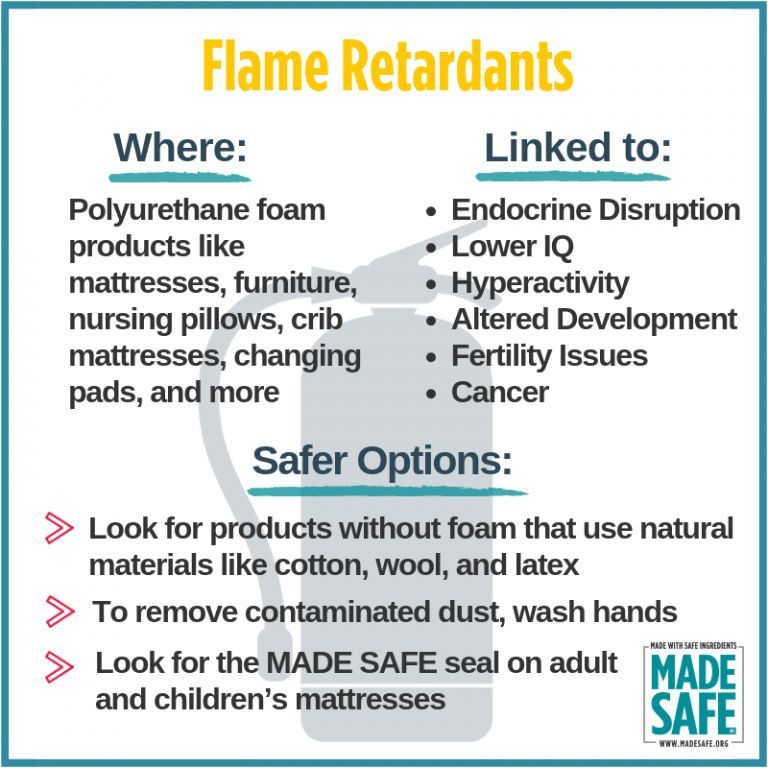 More On Adverse Developmental Impacts >> Several Scientific Studies Have Linked Flame Retardants To Many