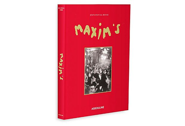 One Kings Lane The Style Section Maxim S Mirror Of Parisian Life Parisian Life Books Cookery Books