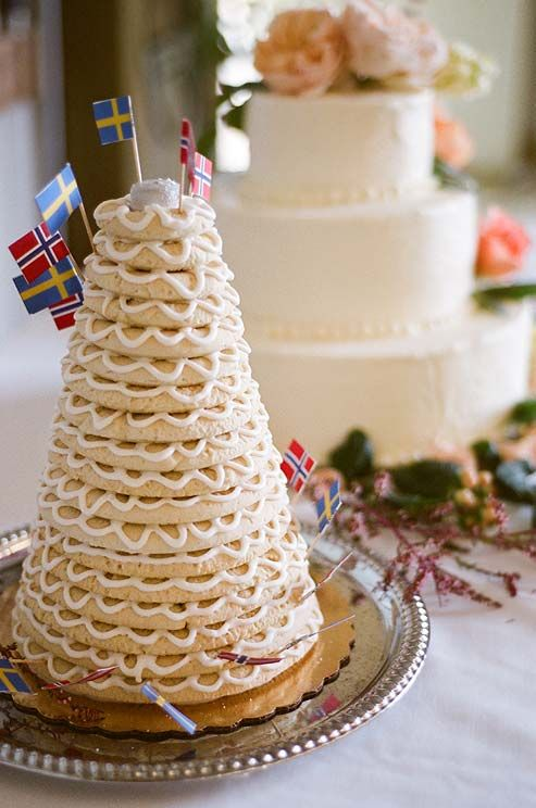 In Norway The Bride And Groom Serve Their Guests A Tower Of Bread