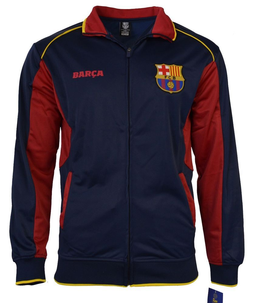 33e1aaeabd2 Fc Barcelona Jacket Adult track zip up hoodie blue red new season 2015-2016  #Rhinox #FCBarcelona