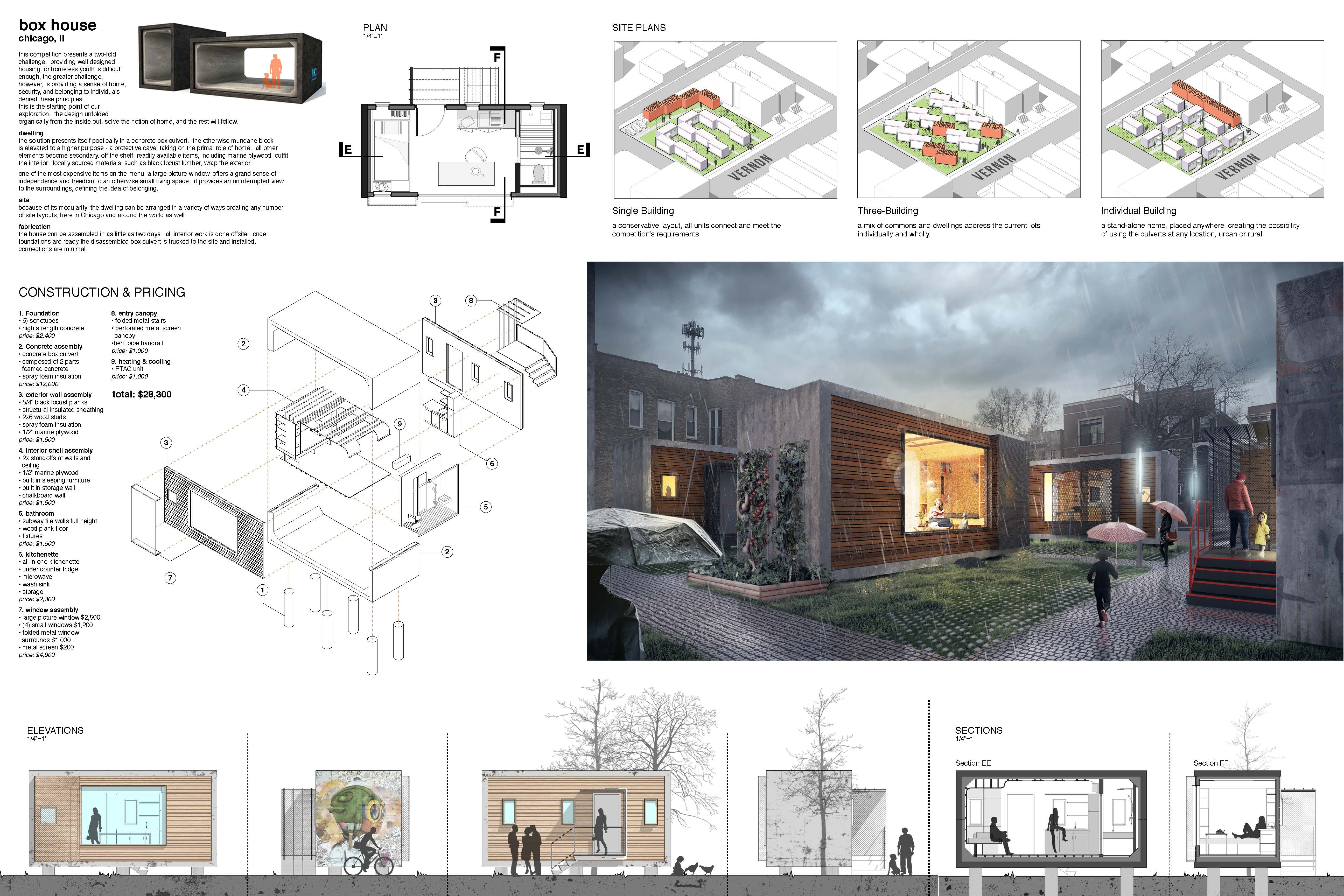 Architecture Project Competition Small House Design Competition