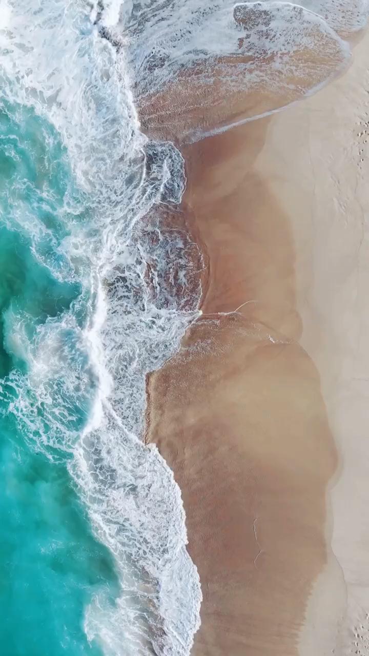 Beach Ocean Waves Landscape Live Scenery Wallpaper Beach Landscape Live Ocean Scenery Wallpaper Waves In 2020 Scenery Wallpaper Ocean Wallpaper Beach Wallpaper