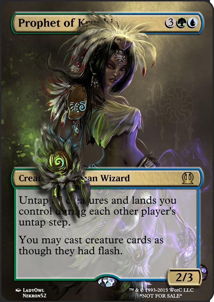 Prophet Of Kruphix Magic The Gathering Mtg Magic The Gathering