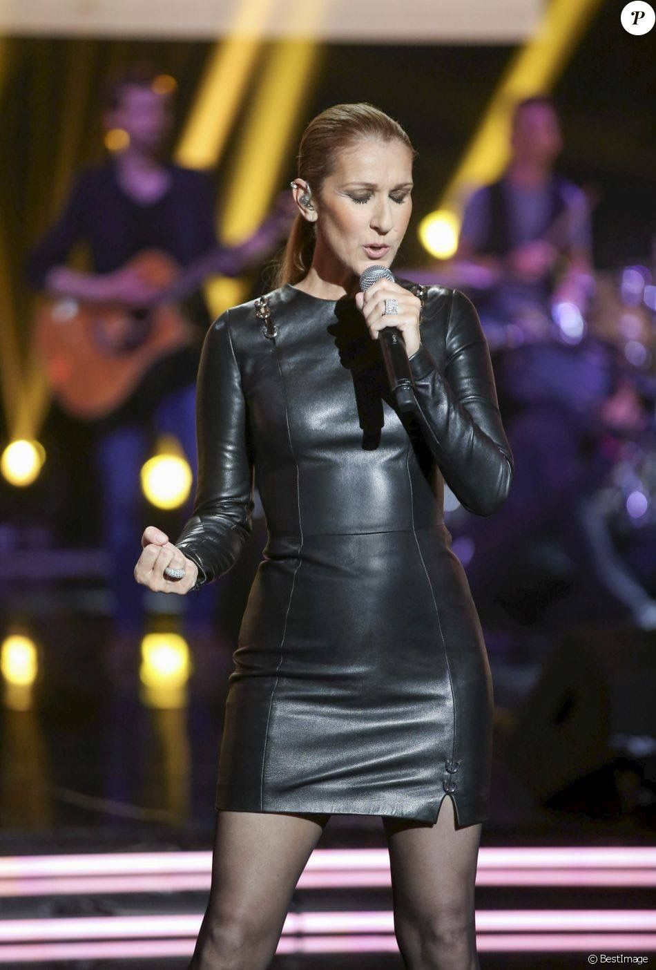 Pin von Dana Scally auf Celine Dion   Leather dresses ...