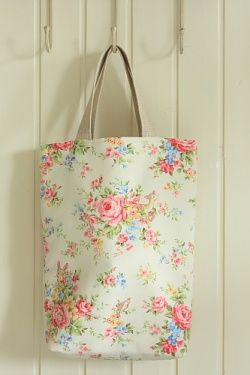 Japanese Cotton ECO Shopping Tote - HANDMADE by yozocraft #tote #handmade #bag #eco #Japanese