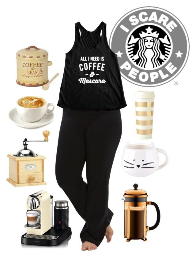 """""""""""Cafe My Style"""" ☕️"""" by tina-cappuccino92 ❤ liked on Polyvore featuring Marika, Bodum, Peugeot, Nespresso and Kate Spade"""