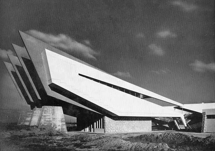 Pysical Therapy Center, Tit Mellil, Morocco, built 1953 60