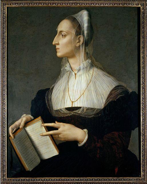 Bronzino - Portrait of Laura Battiferri  Florence, Palazzo Strozzi