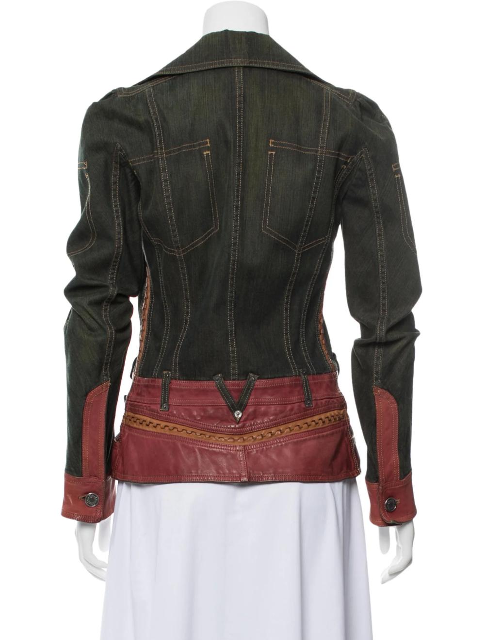Christian Dior Denim Jacket Clothing Chr104524 The Realreal Denim Jacket Jackets Jacket Outfits [ 1319 x 1000 Pixel ]