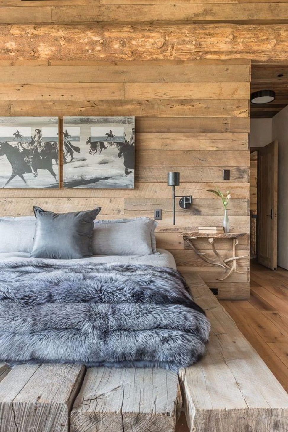 Decorating Men S Bedrooms In 2020 Rustic Master Bedroom Design