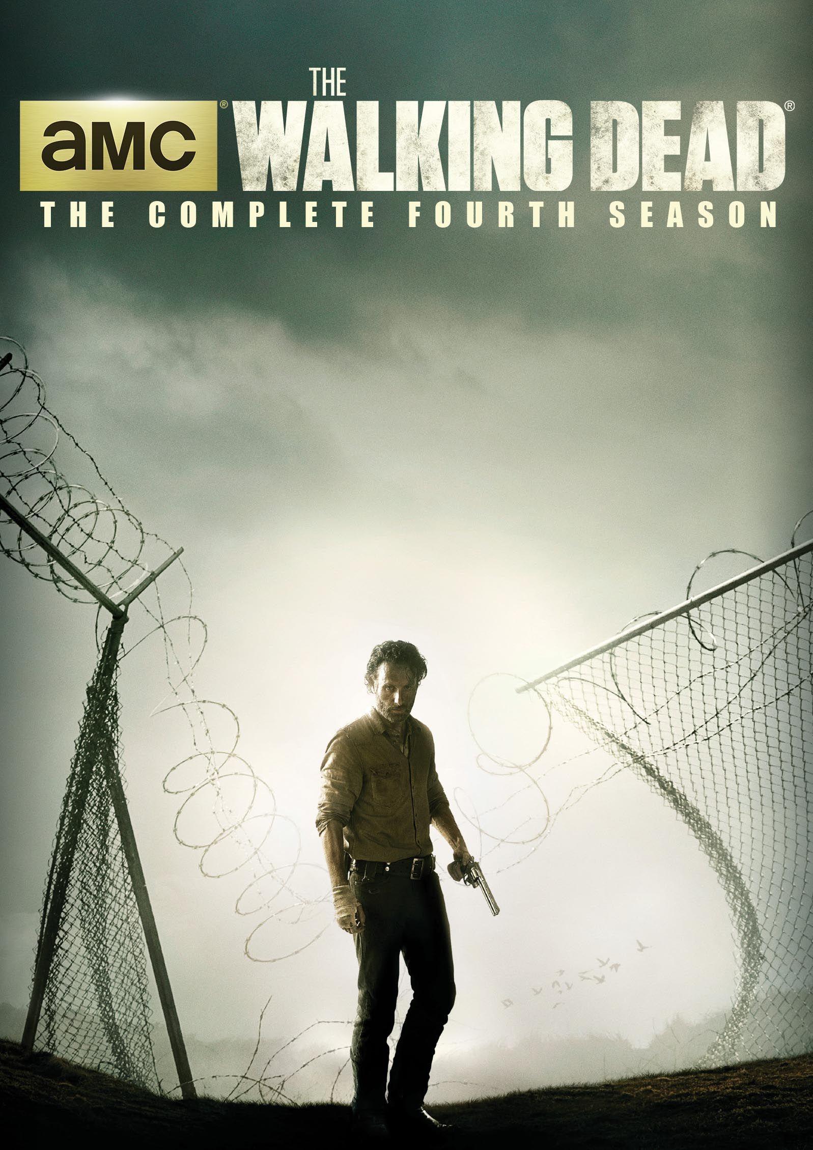 The Walking Dead Season 4 Dvd Overstock Com Shopping The Best Deals On General The Walking Dead Walking Dead Season 4 Walking Dead Season