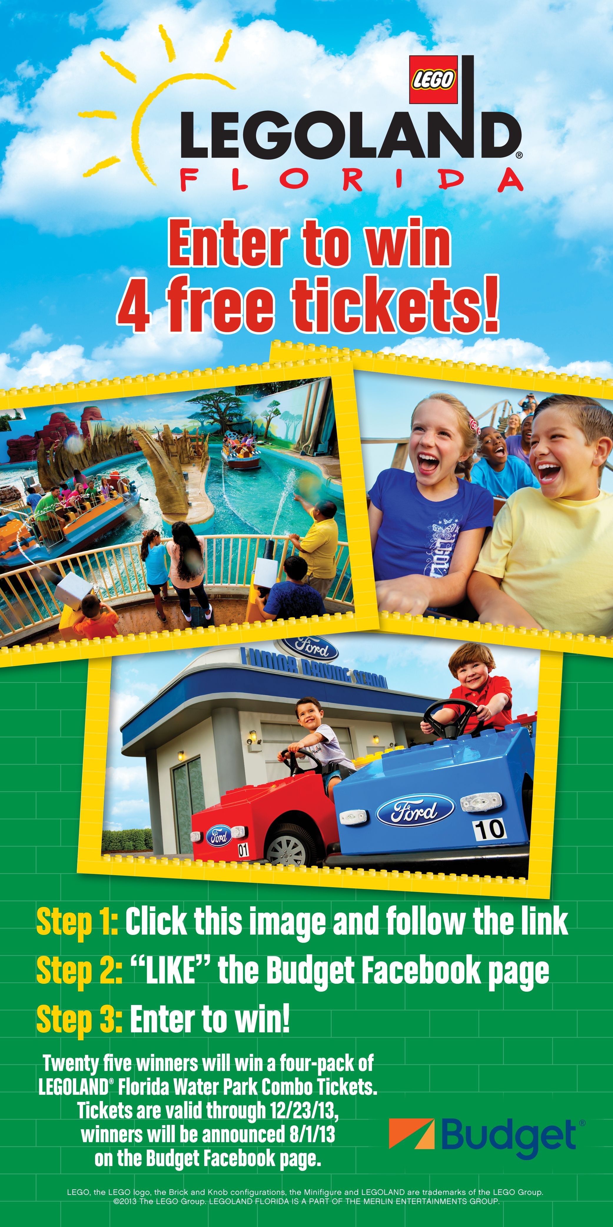 Win Tickets To Legoland Florida From Our Rental Car Partner