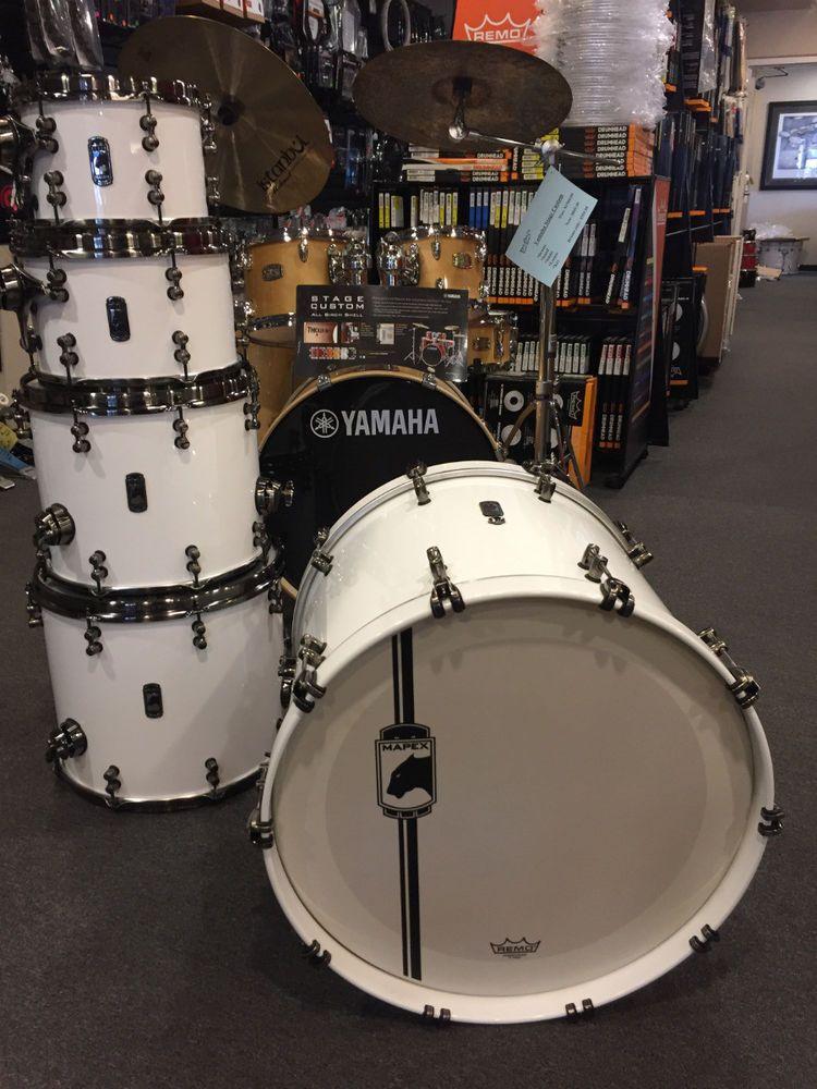 fd504cb5 Mapex Black Panther White Widow 10-12-14-16-22 Drum Set Kit $2199.99 ...