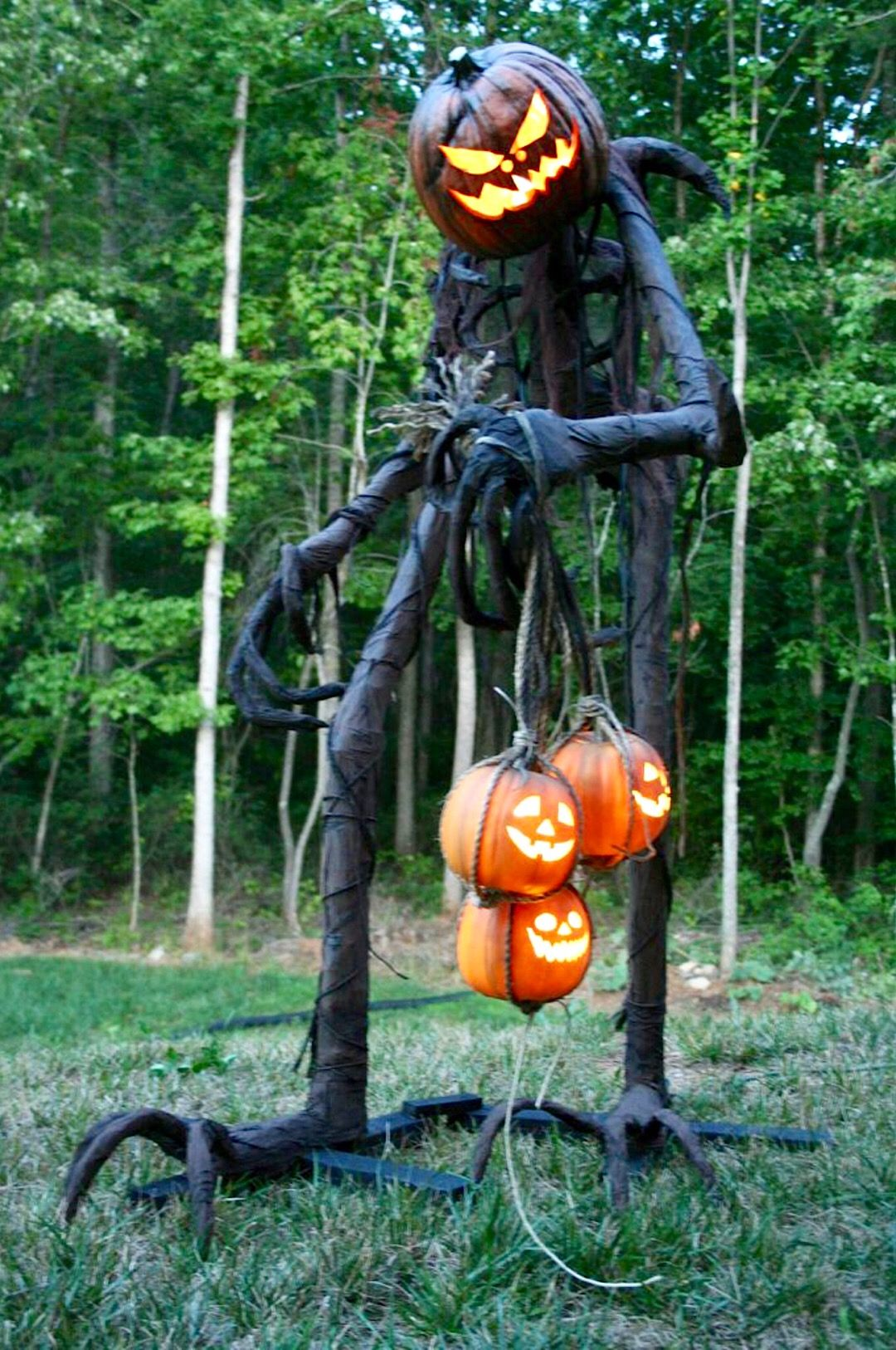 Grim Graham Haunted maze and Halloween ideas - Halloween Yard Decorations