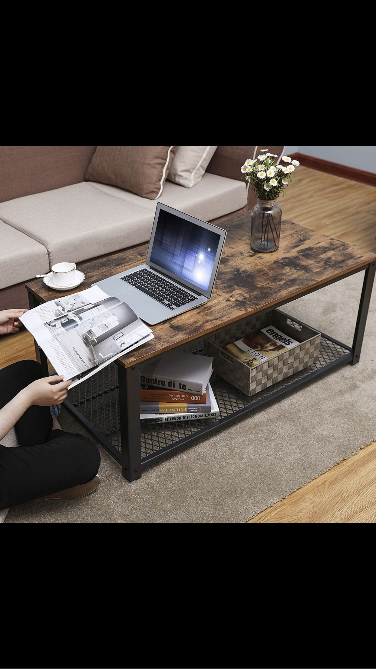 Industrial Coffee Table Modern Coffee Tables Coffee Table Table [ 2208 x 1242 Pixel ]