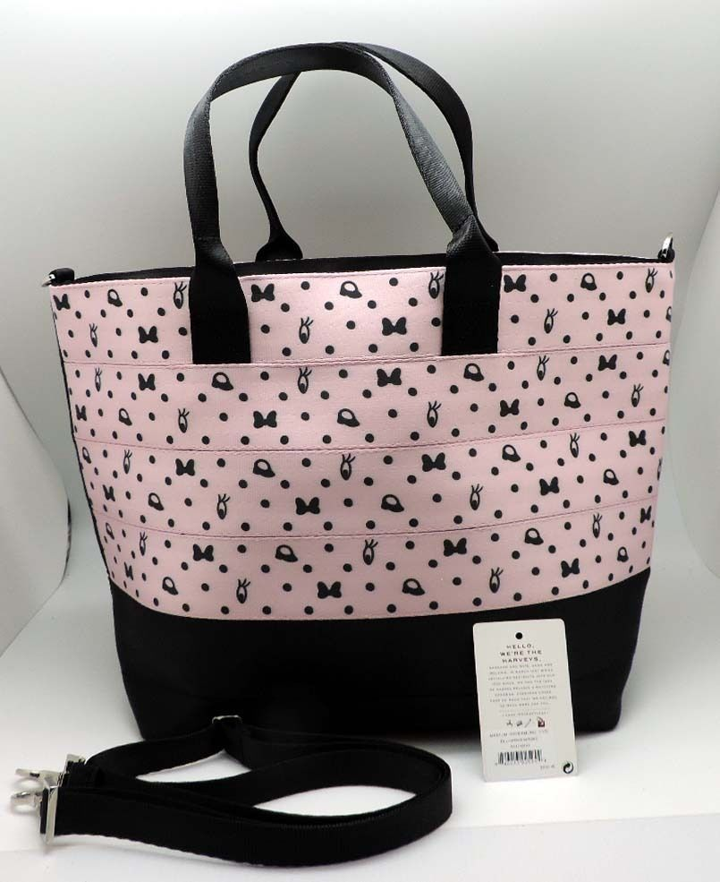 Harveys Seatbelt Disney Blushing Minnie Mouse Medium Streamline Tote Bag NWT #Harveys #StreamlineTote