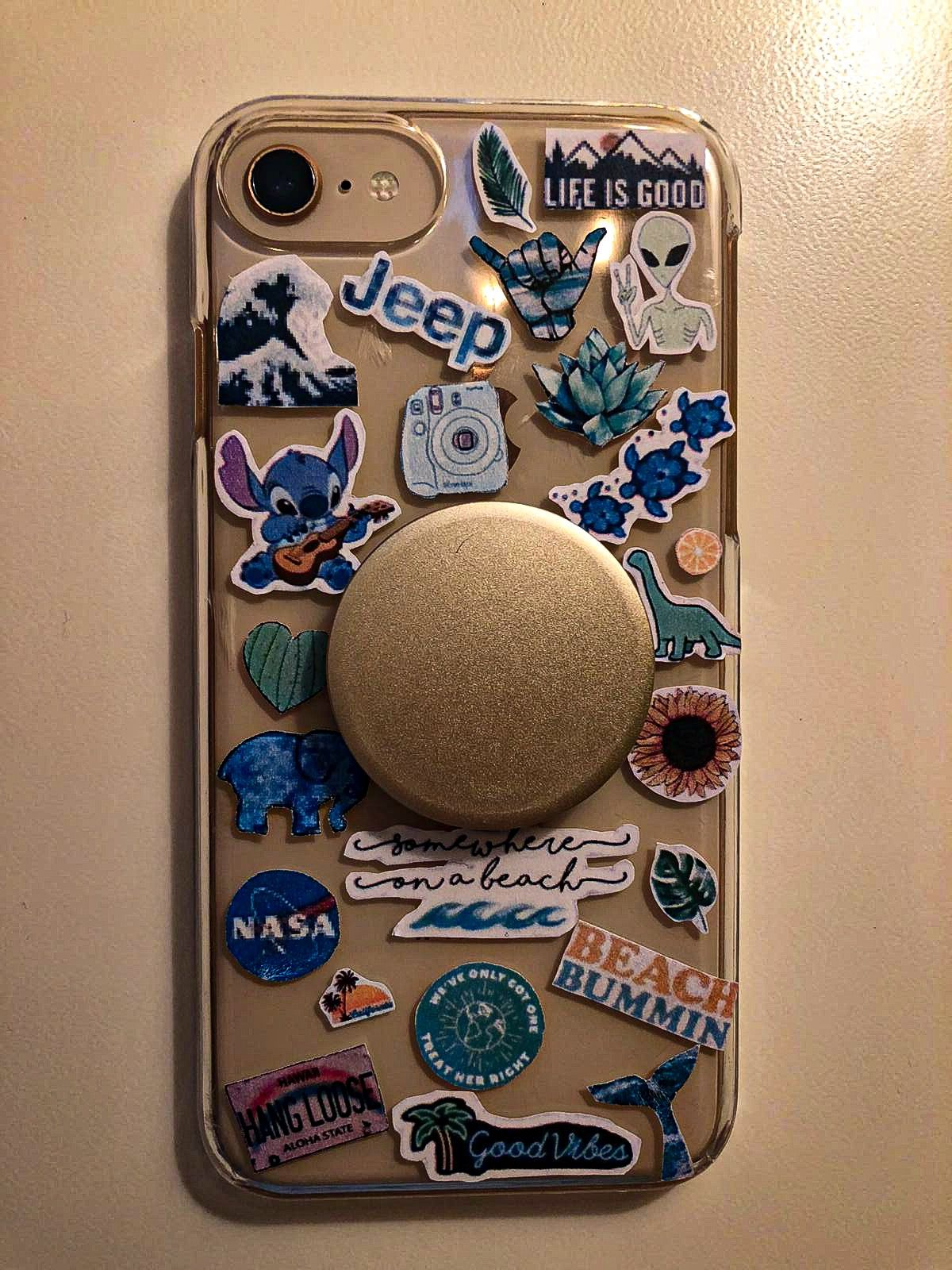idea of stickers for phone case- vsco ideas   Diy phone ...