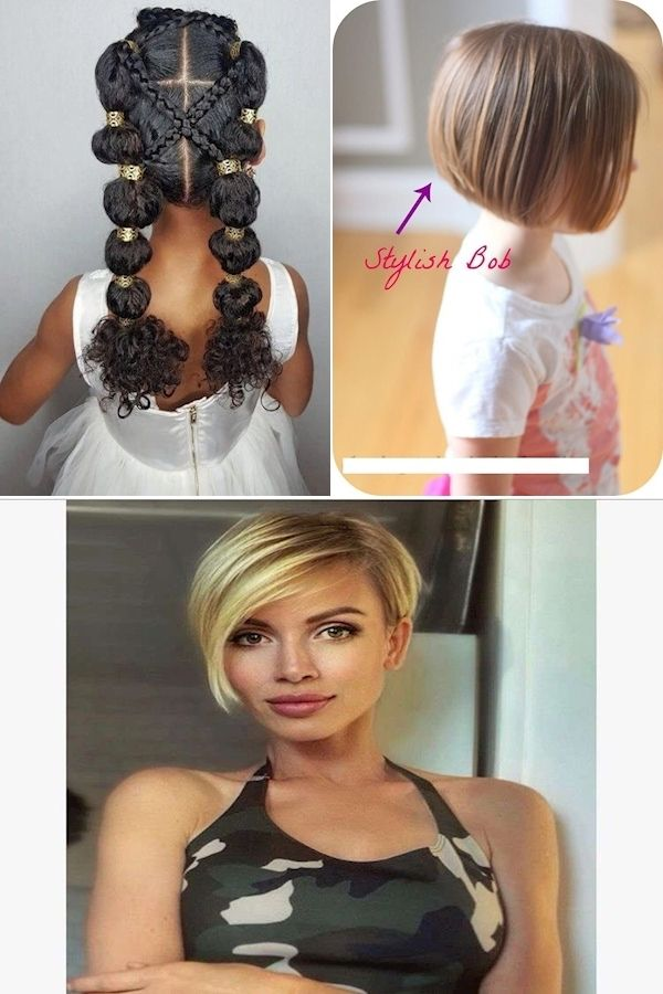 Names Of Haircuts For Girls | Toddler Haircut | Cute Hair Ideas For Kids in 2020 | Girl ...