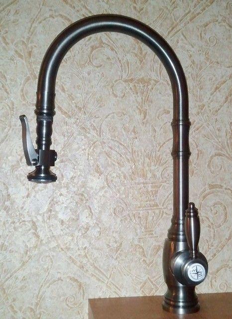 Kitchen Elements Retro Black Kitchen Faucet Design By Blanco