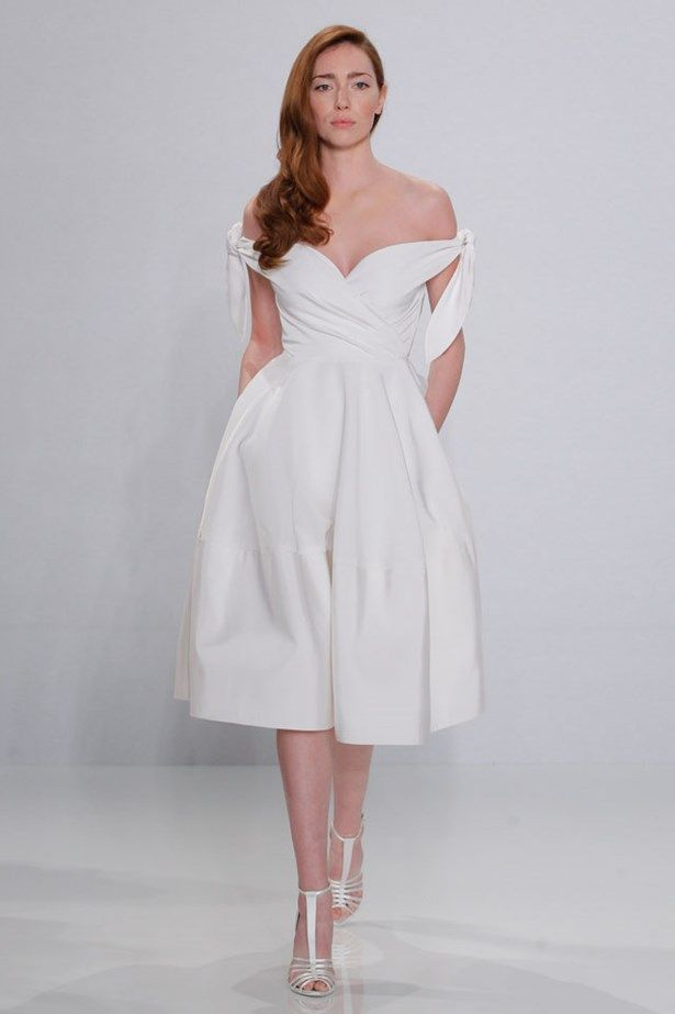 Biggest Bridal Fashion Week Trends | Christian siriano, Silk satin ...