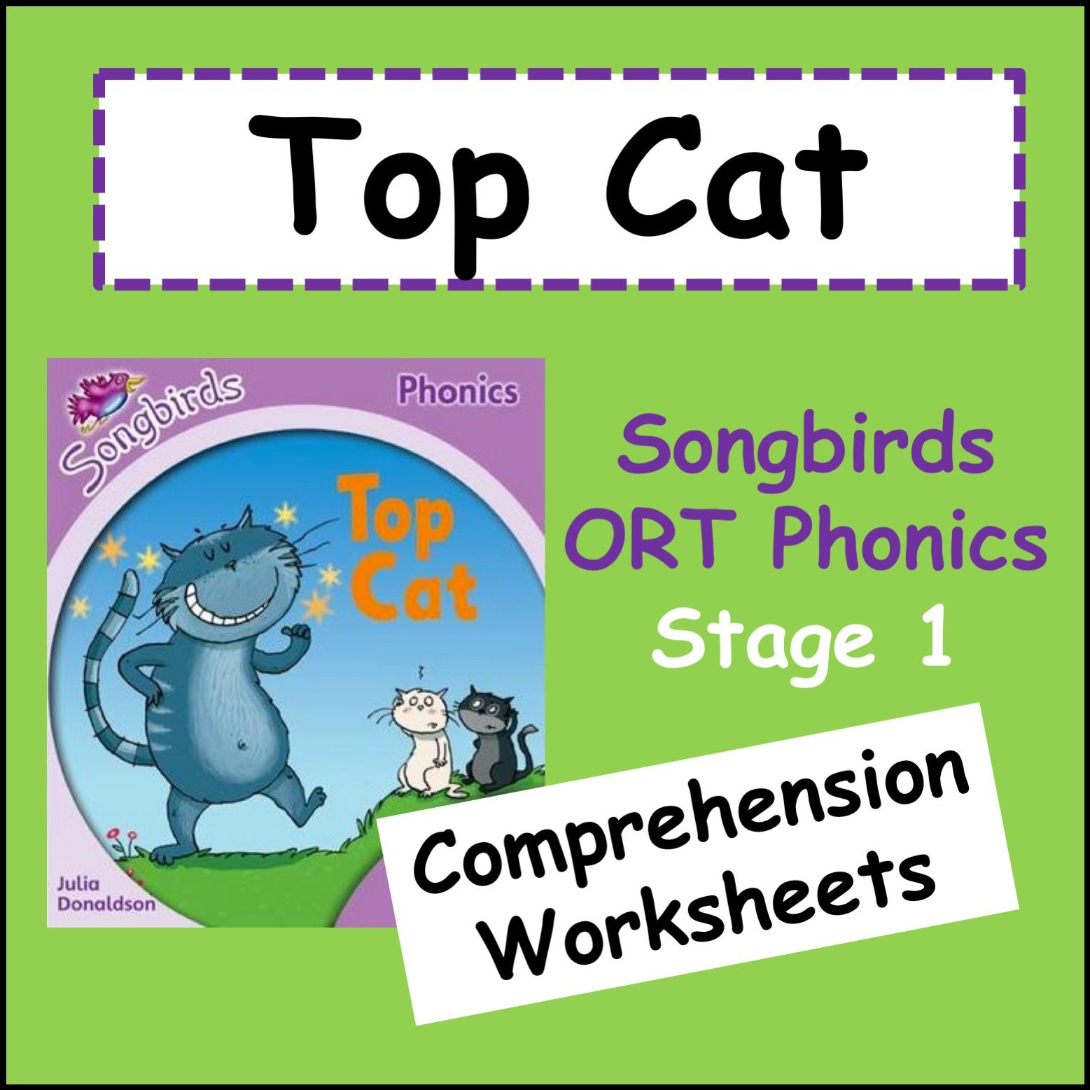 Top Cat Oxford Reading Tree Songbirds Phonics Stage 1