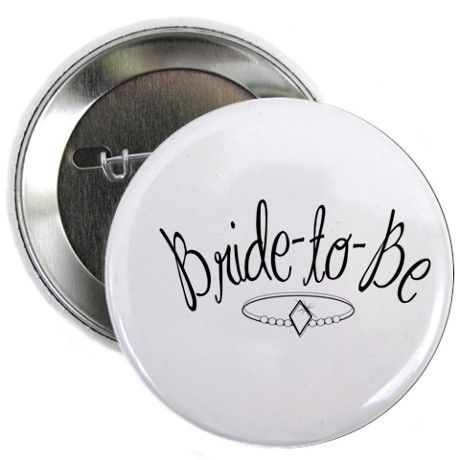 Bride-to-Be Pin