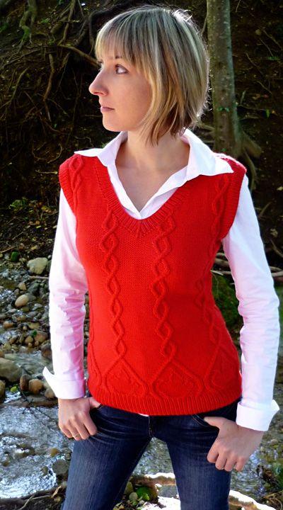 Firelight vest : Knitty Winter bis 2011