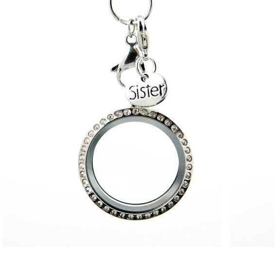 Silver Sister Charm Dangle/Droplet for by