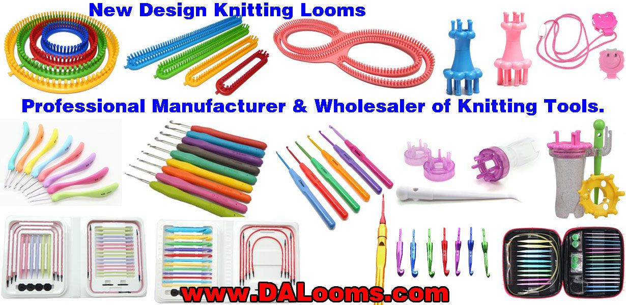 New Design Round Loom Set Compare With Knifty Knitter Knitting Looms