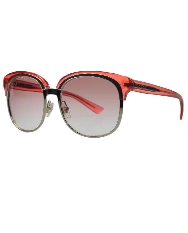 368e1838957 Gucci 4241 S EYU P5 Gold   Rose sunglasses