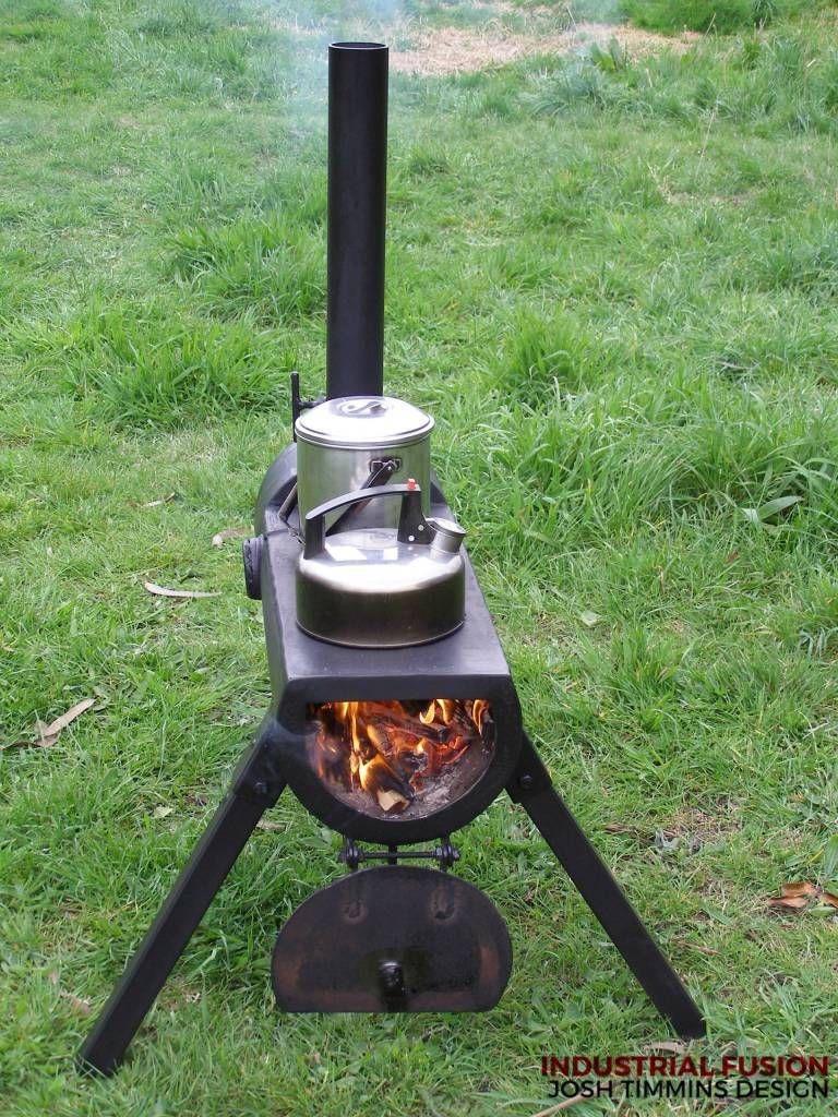 Industrial Fusion Furniture | Cookers and Rocket Stoves | Estufas ...