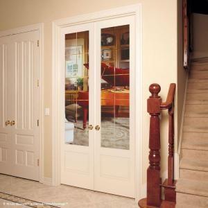 28 In X 80 In 15 Lite Illusions Smooth Primed Mdf Interior Door Slab Pn15012468g605 The Home Depot Doors Interior Black Interior Doors The Home Depot