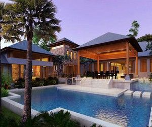 Architecture beach house