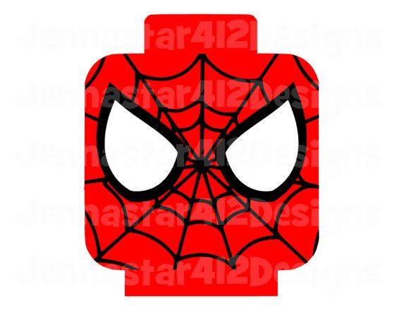 Lego Inspired Spiderman Diy Printable Iron By Jennastar412designs