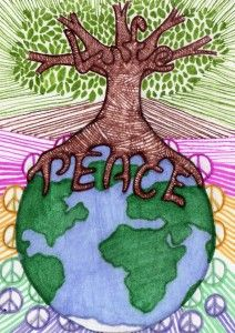 17 Best images about peace project on Pinterest   Peace dove ...