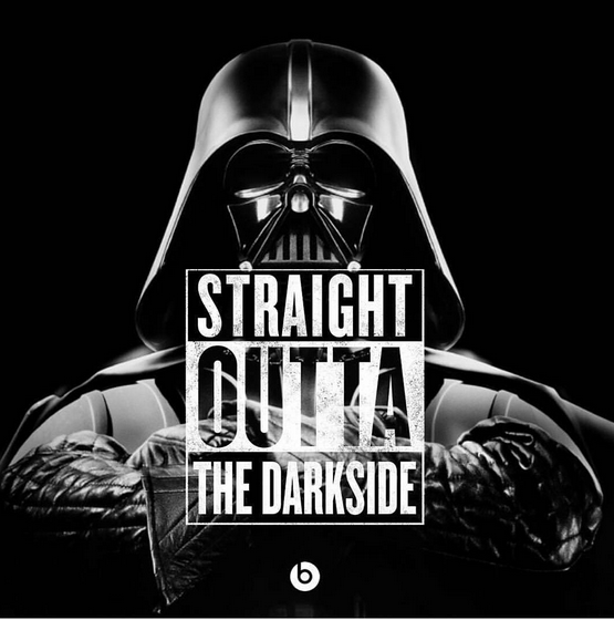 darth vader is straight outta the dark side meme stuff pinterest. Black Bedroom Furniture Sets. Home Design Ideas