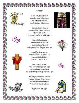 Easter Jesus Poem | Easter Poem in 2019 | Easter poems