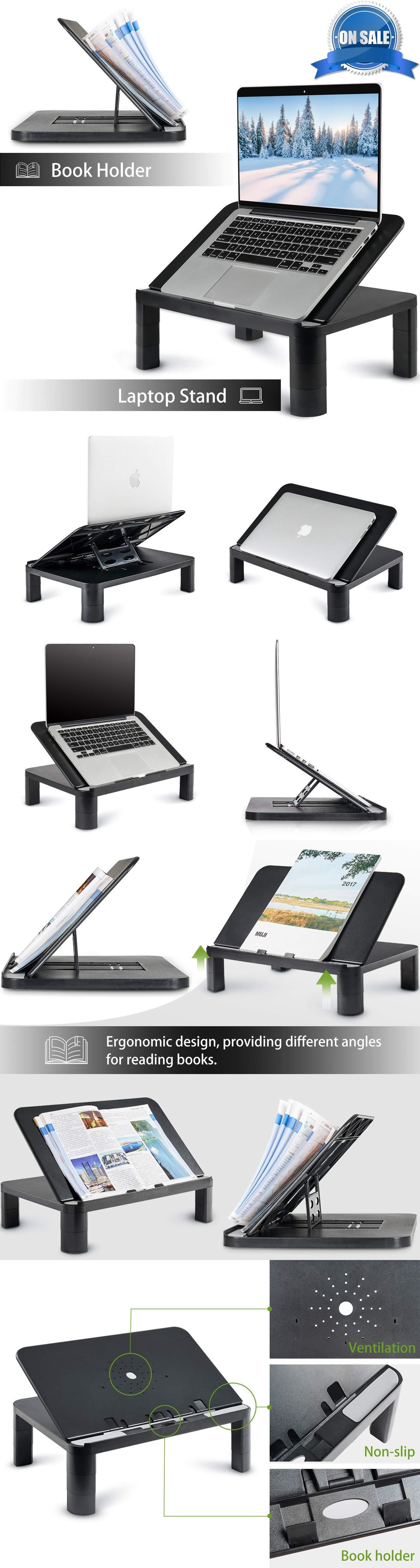 Stands Holders and Car Mounts 116346 Laptop Stand Riser