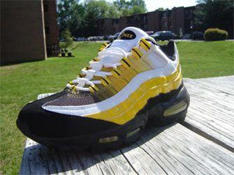 95 Nike Air Max Yellow