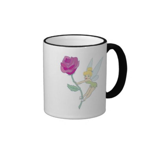 Tinkerbell Disney Coffee Mug $16.95 #disneycoffeemugs