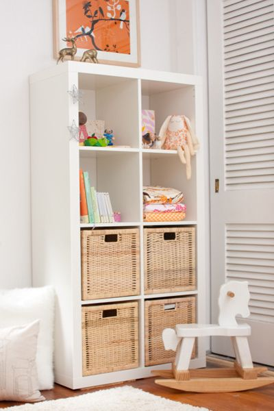Sophisticated Baby Room - Ikea Expedit