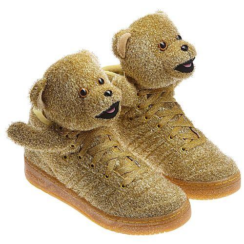 adidas jeremy scott bear shoes